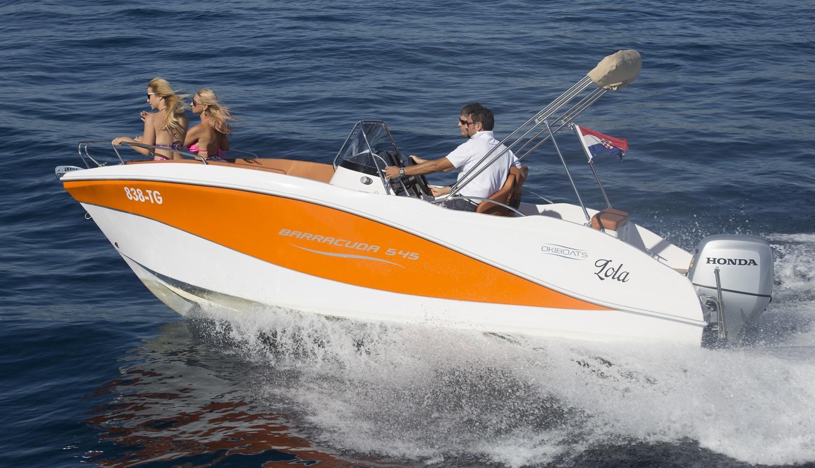 Oki Boats Barracuda 545